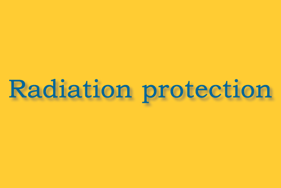 radiation protection demo